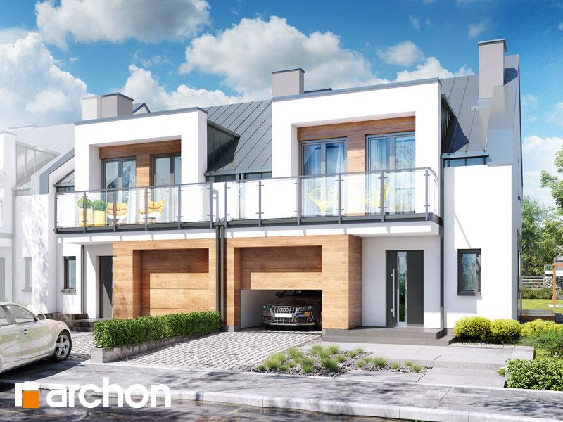 Dom w klematisach 25 (R2B) - wizualizacja 1