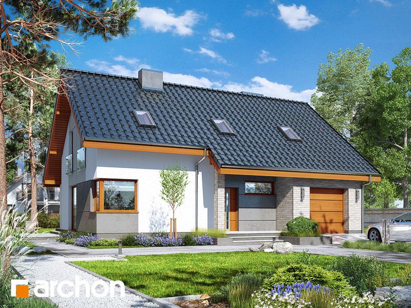 Dom w żurawkach 4 - wizualizacja 1