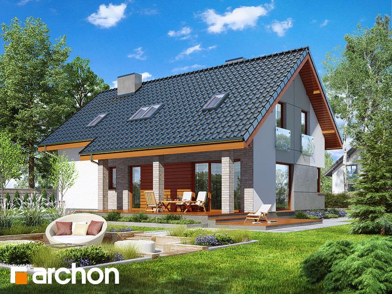 Dom w żurawkach 4 - wizualizacja 2